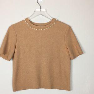 Zara Pearl SweaterSz S/5